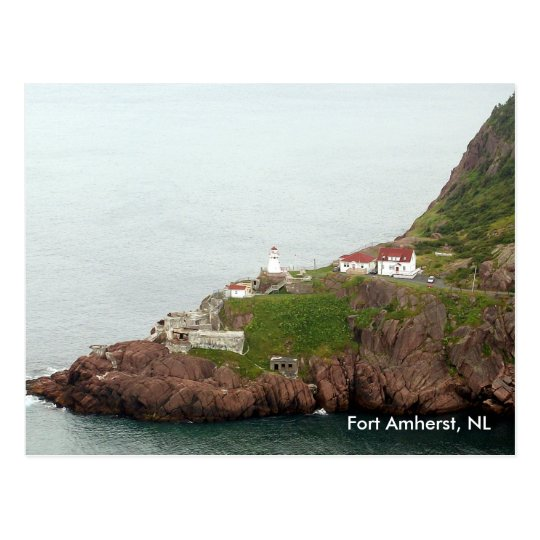 Fort Amherst Postcard