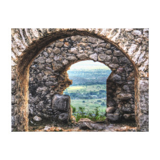 Fort Arches in Haiti Canvas Print