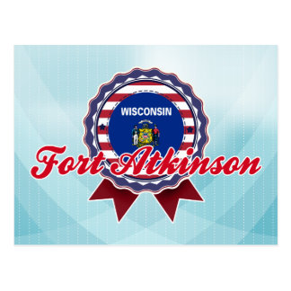 Fort Atkinson, WI Post Card