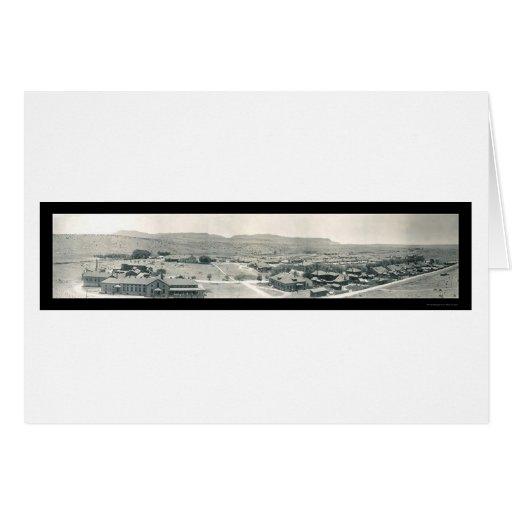 Fort Bayard New Mexico Photo 1909 Greeting Card