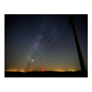 Fort Bend Milky Way Postcard