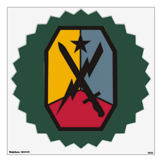 Fort Benning MCOE Wall Decal
