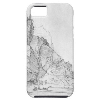 Fort between mountains and sea by Albrecht Durer iPhone SE/5/5s Case