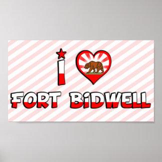 Fort Bidwell, CA Poster
