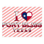 Fort Bliss, Texas Postcard
