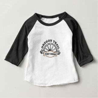 fort boise oregon trail baby T-Shirt