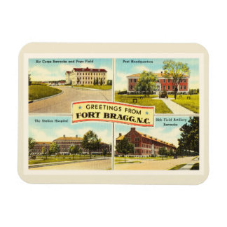 Fort Bragg # 2 North Carolina NC Vintage Souvenir- Magnet