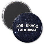 Fort Bragg California 2 Inch Round Magnet