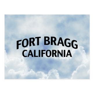 Fort Bragg California Postcard
