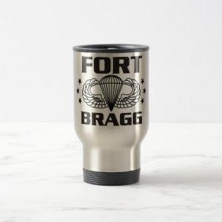 Fort Bragg Carolina del Norte Taza De Viaje De Acero Inoxidable