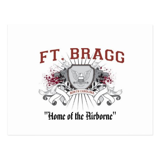 "Fort Bragg ""casero"" de la postal aerotransportada"