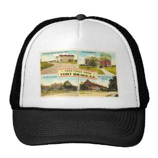 Fort Bragg de # recuerdo del vintage 2 Carolina Gorro