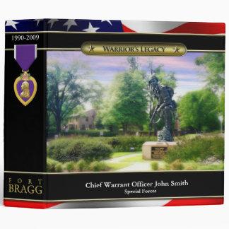 "Fort Bragg Iron Mike 2"" Binder"