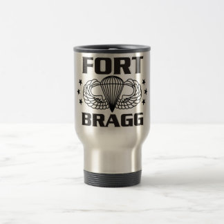 Fort Bragg North Carolina 15 Oz Stainless Steel Travel Mug