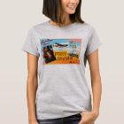 Fort Bragg North Carolina NC Old Vintage Postcard- T-Shirt