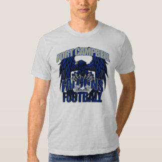 Fort Campbell Falcons Football T Shirts