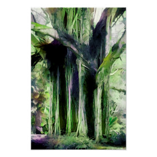 Fort Canning Sentinel - Watercolour Art Print