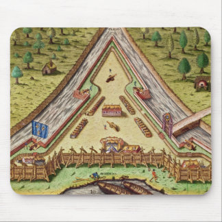 Fort Caroline, from 'Brevis Narratio' Mouse Pad