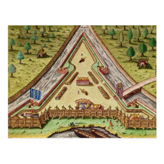 Fort Caroline, from 'Brevis Narratio' Postcard