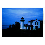 Fort Casey Lighthouse Greeting Cards