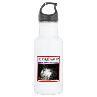 Fort Christmas Farm related items Stainless Steel Water Bottle