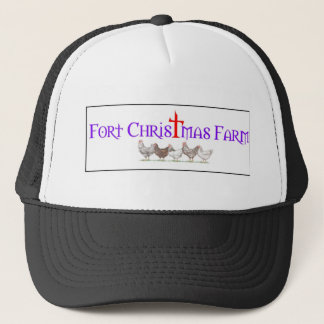 Fort Christmas Farm related items Trucker Hat