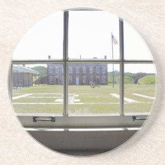 Fort Clinch Drink Coaster