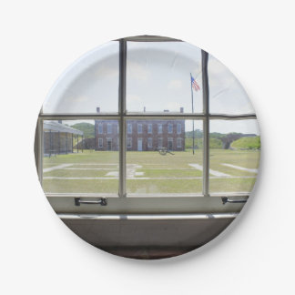 Fort Clinch Paper Plate
