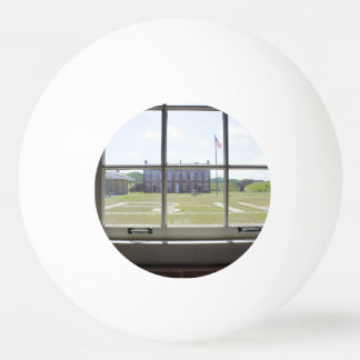 Fort Clinch Ping Pong Ball