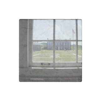Fort Clinch Stone Magnet