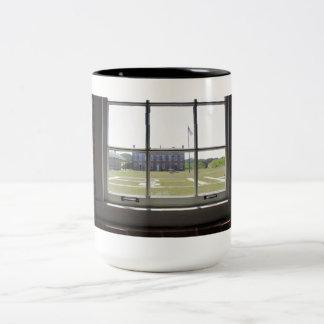 Fort Clinch Two-Tone Coffee Mug