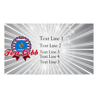 Fort Cobb OK Business Cards