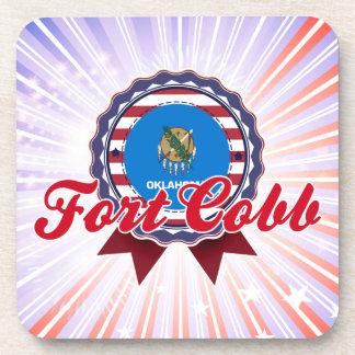 Fort Cobb, OK Beverage Coasters