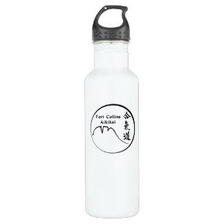 Fort Collins Aikikai Aluminum Water Bottle