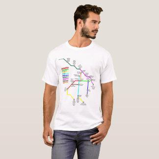Fort Collins Bike Map Men's T-Shirt