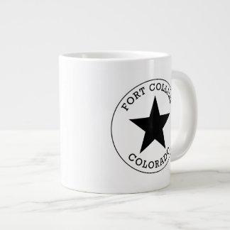 Fort Collins Colorado Large Coffee Mug