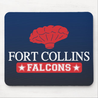 Fort Collins Falcons - Home of Balloon Boy Mouse Pad