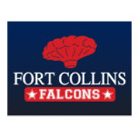 Fort Collins Falcons - Home of Balloon Boy Postcard