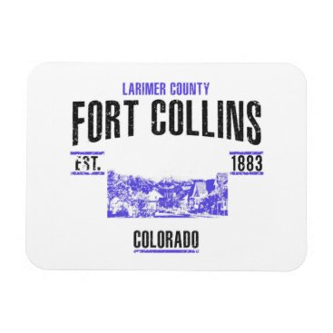 USA Themed Fort Collins Magnet