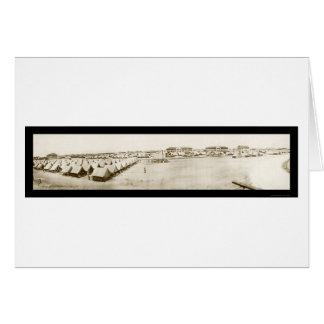 Fort Crockett TX Photo 1918 Card