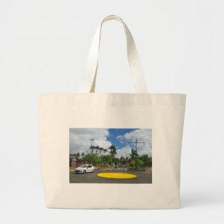 Fort-de-France. Martinique Large Tote Bag