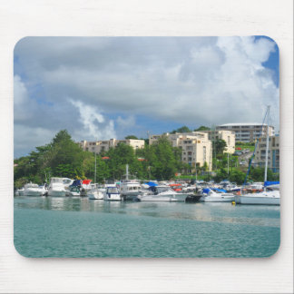 Fort-de-France, Martinique Mouse Pad