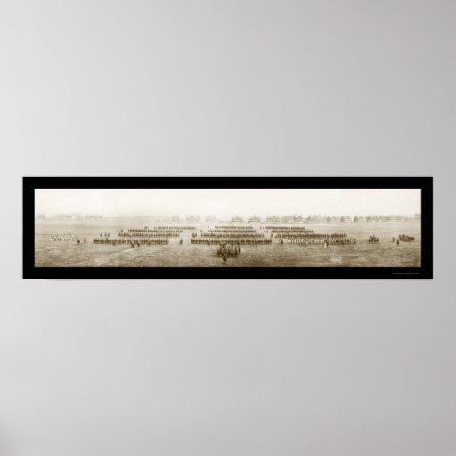 Fort Des Moines Photo 1908 Poster