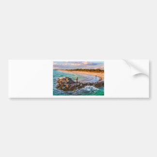 Fort Desoto Park Beach Bumper Sticker