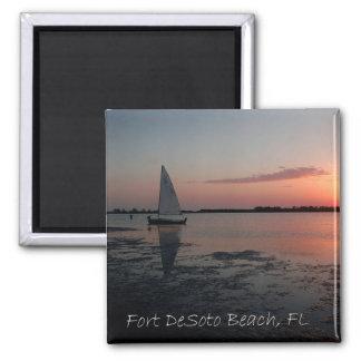Fort DeSoto Sunset Magnet