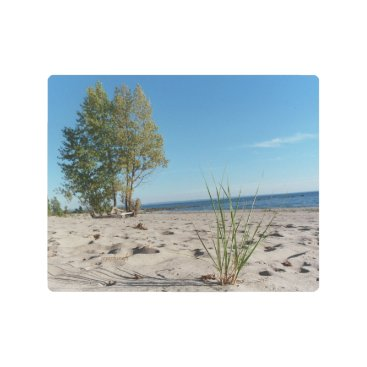 Beach Themed Fort Erie Ontario Canada Beach 8x10 Metal Print