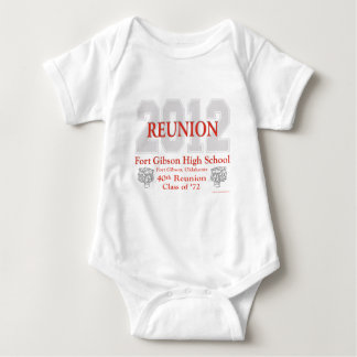 Fort Gibson 40th Reunion Baby Bodysuit