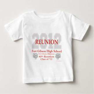Fort Gibson 40th Reunion Baby T-Shirt