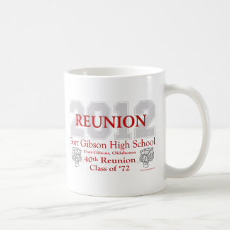 Fort Gibson 40th Reunion Classic White Coffee Mug