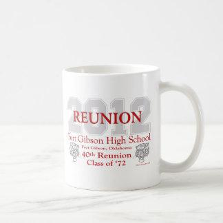 Fort Gibson 40th Reunion Coffee Mug